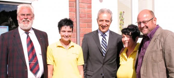 Besuch unseres Ministerpräsidenten im Dorfladen